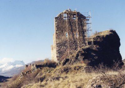 Jarjayes3C Echafaudage mur clocher 2001