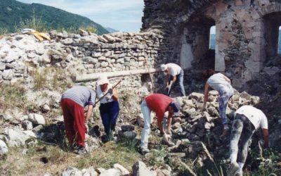La restauration du site des Trois Châteaux