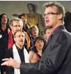 Cet été, la Chorale de Kevin Oss se produit à Jarjayes