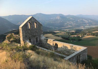 Jarjayes 3C Trois châteaux vue d'ensemble