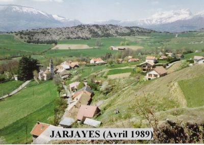 JARJAYES Photo Avril 1989