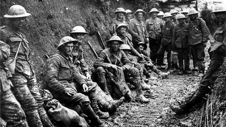 Soldats tranchées